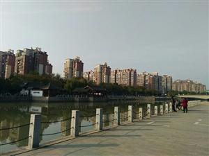 行走在潼河边