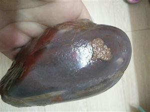 血沁玉原石(保真)(13770806378)