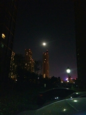 前天晚上的月亮