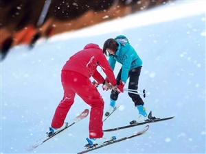 冬季旅游�俚�x公山滑雪��
