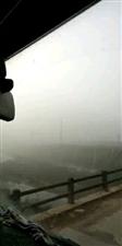 寻乌大雾,能见度50米,刷爆朋友圈