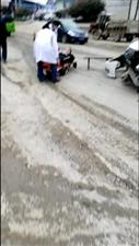 鄢家桥发生交通意外