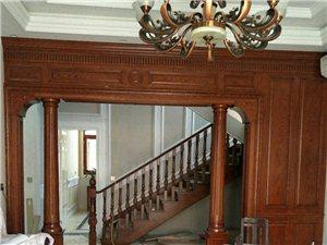专业高档楼梯护墙板壁炉酒柜衣柜橱柜木门定制整装全屋定制给顾客一个舒适的居家体验