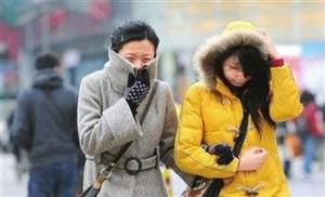 寒潮蓝色预警:预计寻乌县48小时内最低气温将要下降8°C以上,最低气温可降至4C左右