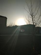 冬天的阳光暖暖的