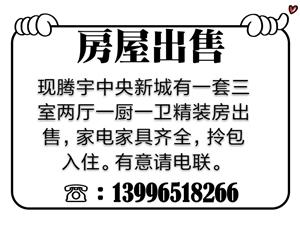腾宇中央新城三室两厅一厨一卫精装房出售