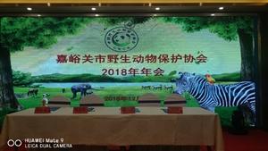 祝嘉峪关野生动物保护协会2018年会圆满成功!