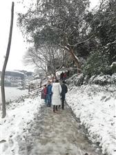 2018年底的大雪,覆盖了迪歌整个朋友圈