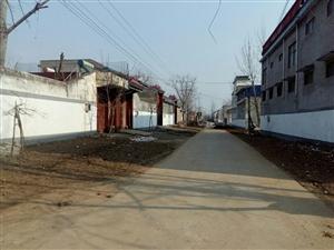 我村干净整洁的街道,令人耳目一新