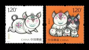 解读明天发行的生肖邮票