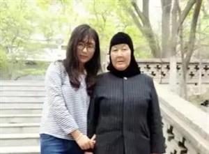 甘肃西北师范大学学生马淑花父亲早逝,大学四年来,她租房把丧失劳动能力的母亲带在身边照料,最辛苦的时候