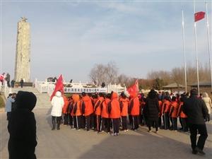 滨州周恩来纪念园,各学校,团体机关,社会各界人士在周恩来纪念园举行纪念活动,纪念周恩来总理逝世四十三