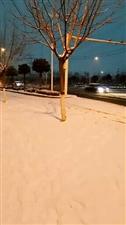 雪夜思!人在他乡……