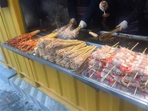这个就是仁寿中城国际的网红烤串?