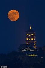 超美的月亮!
