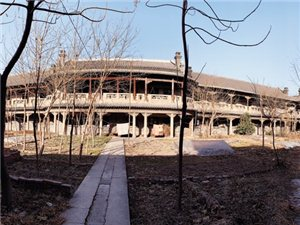 踏�M�影《孔雀》的取景地―天主教河南�修院。