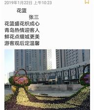 香港路口的花篮