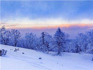 神树小城山冬韵