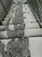 雪天路滑大家出行注意安全!