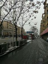 五河长途汽车站车辆雪天依然和你在一起