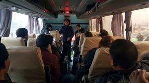 涡阳县总工会接来了第三批外出务工困难农民工回家过年