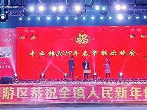 热烈祝贺丰禾镇首届春节联欢晚会圆满成功!