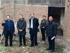 春节前山阳县文广局检查文物和文化市场安全