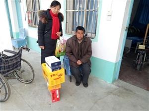图片头条:涡阳县新兴镇妇联春节期间慰问孤寡老人和贫困妇女