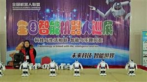 全国智能机器人巡展
