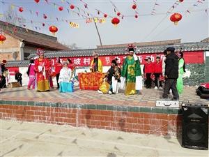 【欢乐过大年】恭门镇杨坡村群众唱小曲庆新春