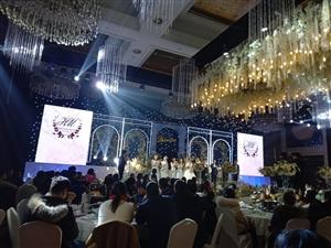 魅力奢华的婚礼现场