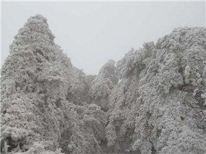 西大山的冰雪世界!!