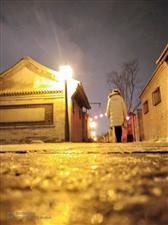 静谧的冬夜。