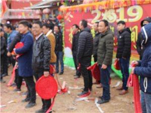 正月十二,马关镇韦沟社火闹新春