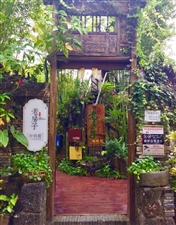 万泉河公园内的老房子,建筑古朴有历史感,同时也有时代气息,走累了进去小息片刻,喝杯咖啡,是不是有点儿