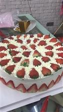 好大的蛋糕