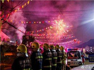 #春节摄影大赛#过完年又到元宵,明天就是元宵节,#蓝朋友的警告#团圆祈福请勿忘注意消防安全!