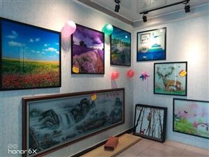 莹彩壁画,背景墙,玄关,装饰画,地板画