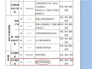 珠海市发布《2018-2019年珠海市技能人才紧缺职业(工种)目录》