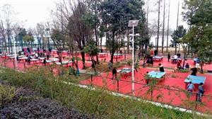 汉中的健身场地(手机随拍)