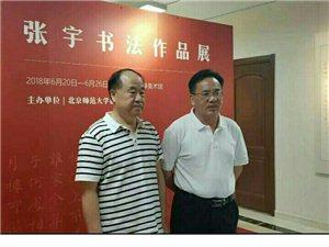 临泉籍著名书法家张宇和莫言先生