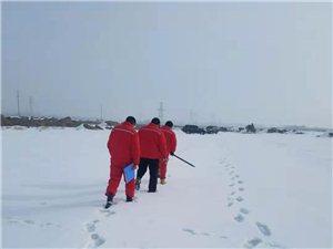 �@是北疆奎屯�F在的雪景
