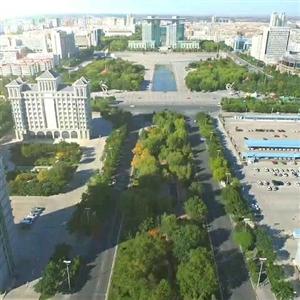 俯瞰市政广场