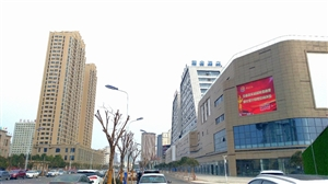 汉台区南一环路西端商业街随拍