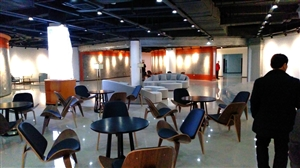 威尼斯人网上娱乐平台旅游信息服务中心地下展厅即将布展