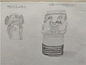 80年代的素描,那个时代,文化匮乏,虽然画的不好,哪个时候,对中国文化和外国的文化