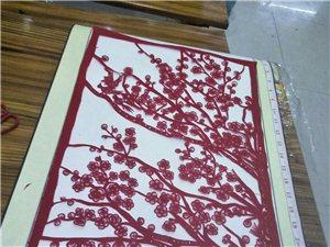 【高手在民间 】 张家川小媳妇在山东泰安发展剪纸艺术