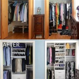 自己设计衣柜做一回设计师