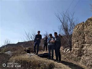 张家川在线受刘堡镇政府邀请航拍刘堡镇刘堡村空心村拆除现场