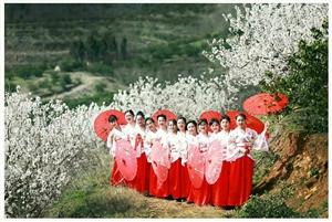 心中有景才能春暖花开。。。